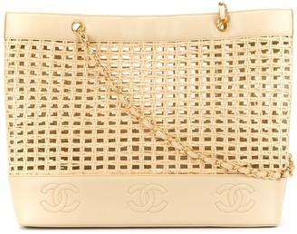 Chanel Pre-Owned basket chain shoulder bag