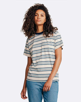 Quiksilver Womens Striped Tee