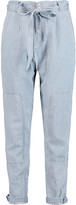 Marc by Marc Jacobs Striped chambray straight-leg pants