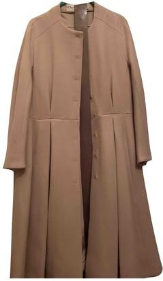 Christian Dior Beige Cashmere Coat for Women