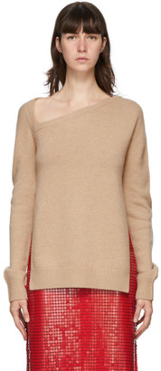 Christopher Kane Beige Wool and Cashmere Sweater