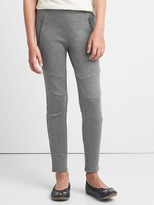 Gap Moto zip ponte pants