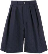 Marco De Vincenzo zigzag tailored shorts