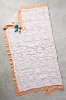 Anthropologie Gingham Toddler Quilt