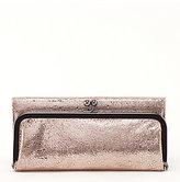 Hobo Rachel Metallic Bifold Wallet