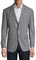 Ben Sherman Plaid Slim-Fit Sportcoat