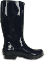 Crocs Navy Tall Rain Boot - Women