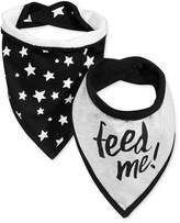 First Impressions 2-Pk. Feed Me Bandana Bibs, Baby Boys (0-24 months), Created for Macy's
