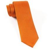 The Tie Bar Burnt Orange Grenafaux Tie