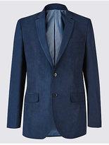 M&S Collection Suedette 2 Button Jacket