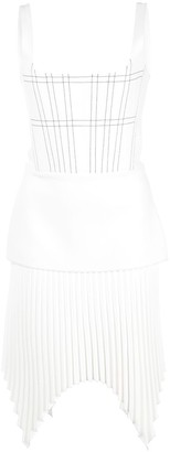 Dion Lee Pleated Mini Dress