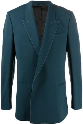 Paul Smith Oversize Contrasting Stitch Blazer