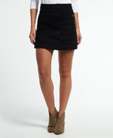 Superdry A-Line Denim Mini Skirt
