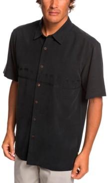 Quiksilver Men's Tahiti Palms 4 Short Sleeve Shirt