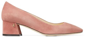 Jimmy Choo Dianne 45 Suede Leather Pumps