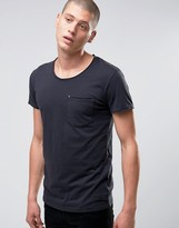 Minimum Bradley Pocket Tee In Black