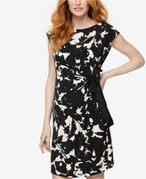 Taylor Maternity Printed Dress