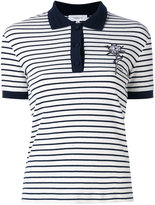 Carven striped polo shirt