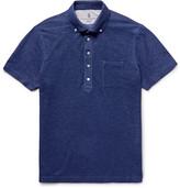 Brunello Cucinelli - Slim-fit Button-down Collar Cotton-piqué Polo Shirt
