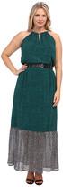 MICHAEL Michael Kors Size Meadow Maxi Chain Dress