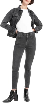 Everlane The High Rise Crop Skinny Jeans