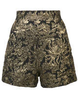 Haider Ackermann Jacquard Shorts - Black - Size IT36