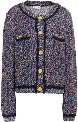 Claudie Pierlot Boucle-knit Cotton-blend Cardigan
