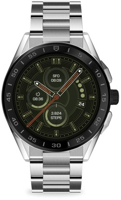 Tag Heuer Connected Modular Ceramic & Stainless Steel Bracelet Smartwatch