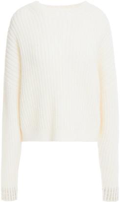 3.1 Phillip Lim Crystal-embellished Ribbed Wool-blend Sweater
