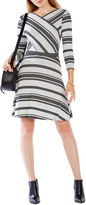 BCBGMAXAZRIA Kenji Striped Dress