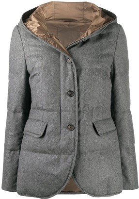 Brunello Cucinelli Hooded Padded Jacket