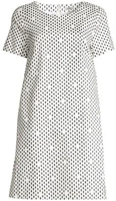 Peserico Oblong Dots Shift Dress