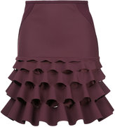 Dion Lee ruffled skirt - women - Silk/Polyester/Spandex/Elastane/Polyimide - 6