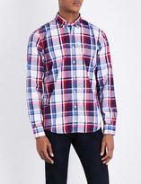 Tommy Hilfiger New York-fit check-print cotton shirt
