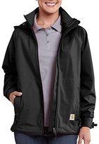 Carhartt Women's Force Equator Zip Front Hooded Waterproof Breathable Jacket