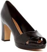 Clarks Jenness Cloud Peep Toe Pump - Wide Width Available