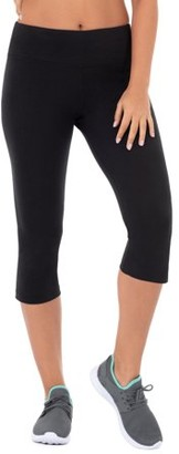Athletic Works Women's Dri-Works Core Active Capri Legging