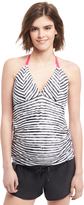 Motherhood Halter Tankini Maternity Swim Top