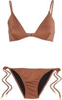 Melissa Odabash Manhattan metallic triangle bikini