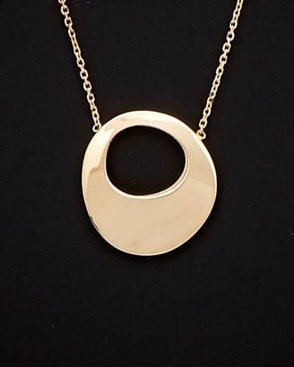 Italian Gold 14K Oval Necklace