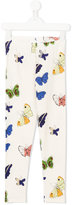 Mini Rodini butterfly print leggings