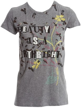 Valentino Grey Cotton Top for Women