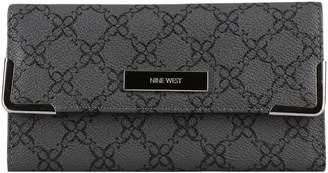 Nine West Printed PVC Wallet