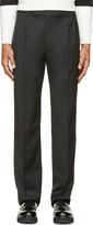 J.W.Anderson Black Wool Classic Trousers
