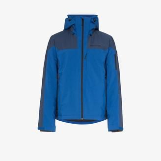 Peak Performance Blue Maroon Race jacket