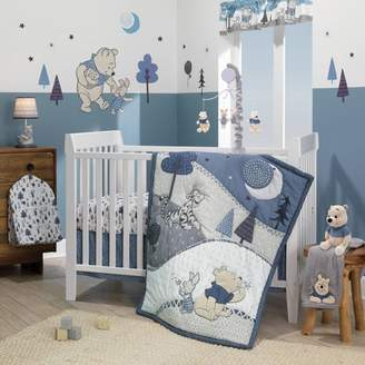 Lambs & Ivy Disney Baby Nursery Crib Bedding Set - Forever Pooh 3pc
