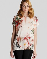 Top - Opulent Bloom Print