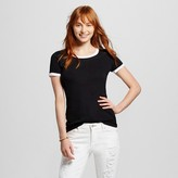 Mossimo Women's Short Sleeve Crew Neck T-Shirt Juniors')
