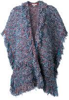Etro fringed knit cardigan