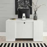 Emblyn Reversible Credenza Desk Latitude Run